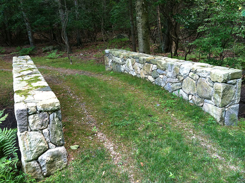 hand-made stone bridge